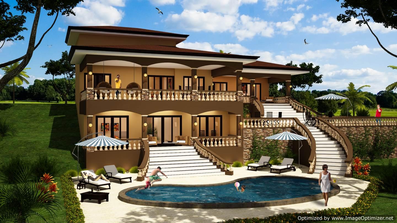 Design a house in Costa Rica